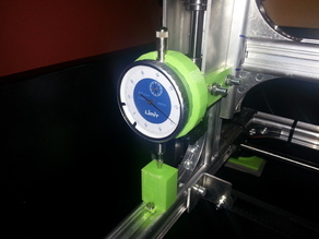 Measuringclock holder at the side for K8200