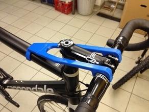 Fahrrad Lenkerfixierung / Bicycle handlebar fixation