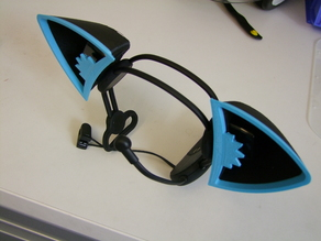 Multipurpose Cat Ears - Necomimi Edition