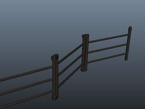 Playmobil - fence module