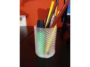 Spiral Cylinder Vase