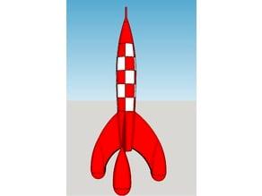 Tintin Moon Rocket Puzzle (small)