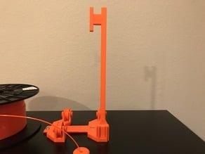 Sample Spool Holder + Adapter for 'Original Prusa i3 MK3 ENCLOSURE'