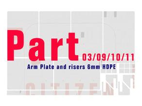 Citizen riot shield - Arm plate