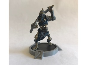 28mm Tabletop Enemy Marker / Counter Bases