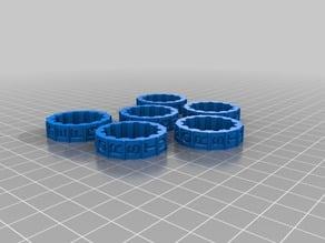 Cryptex Alpha Rings