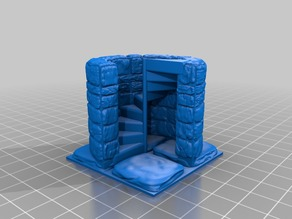 OpenForge 2.0 Mag 3/4 Spiral Stair Up
