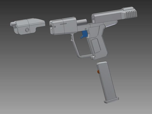 Halo Blaster V2 by dan0nator - Thingiverse