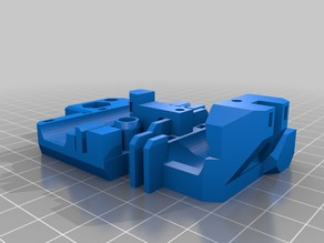 Prusa I3 MK2s X carriage spaced for Anet A8