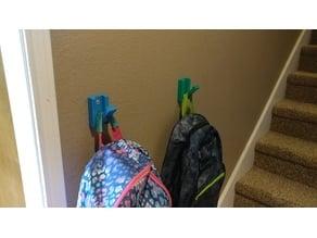 Fold Flat Backpack Hook