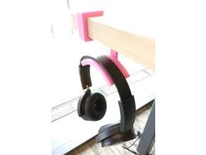 Parametric Lower-profile Headphone Holder
