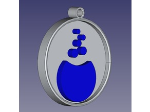 Mageia Linux Pendant / Keychain