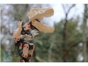 The Ergosaurus Rex (Poppy Ergo Jr with T-Rex 3D printed parts)