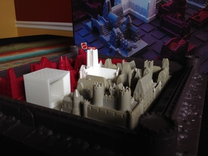 The Cube: A Cathedral Game Piece