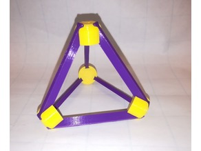 Make Your Own Platonic Tetrahedron