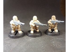 Space Dwarf Warriors without weapons