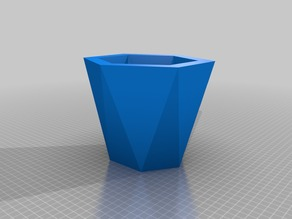 Hexagonal Cup