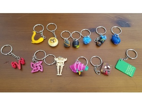 Slay The Spire Keychain Assortment