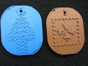 Medallions for Christmas