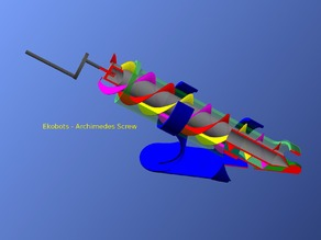 Ekobots - Archimedes screw