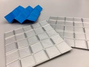 Origami Press - Miura Fold