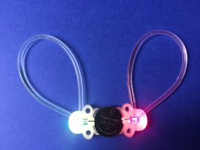 Color Changing Fiber Optic LED Holder
