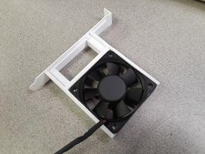 Computer slot cover - GPU fan mount for 60mm x 15mm fan