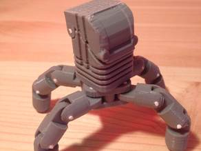 Mini Articulating Quadruped Mech