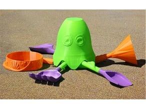 Octopus Sand Tools