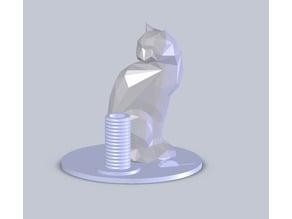 Cat Penholder