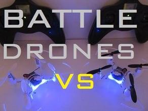 Hubsan Drone Modification Battle Body