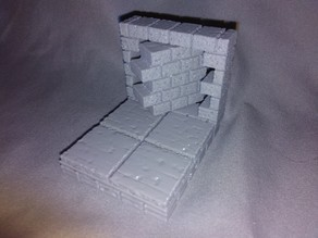 OpenForge 2.0 Cut Stone External Wall With Secret Door