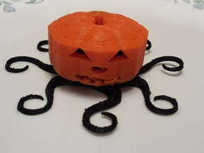 Pumpkin Costume for Octopus