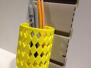 Suncast Slat Wall Pencil Holder