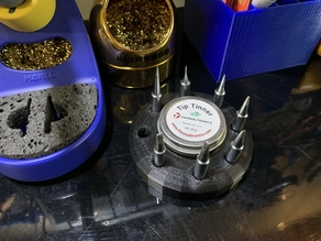 Hakko Soldering Iron Extra Tip and Tinner Holder
