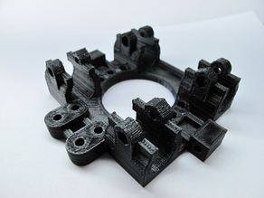 Reinforced Prusa X Carriage with Slim LM8UU Holder
