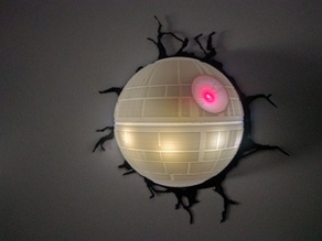 Deathstar lamp