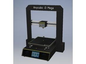 Anycubic i3 Mega 3D Modell