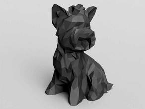 Dog Low poly york