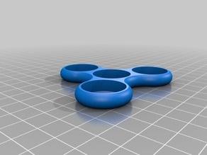 Nickel Tri Fidget Spinner