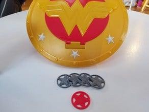 Wonder Woman Shield - Disc Shooter