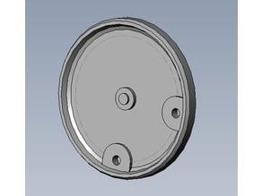 Hydraulic gearmotor cover for Hinowa, Brevini industri