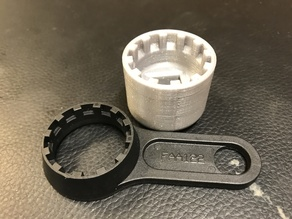 SR Suntour fork top cap socket (FAA122/FAA086 replacement)