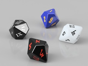 D10 Dice Variety Pack and Life Counter Tray