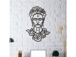 Frida Kahlo Wall Sculpture 2D II