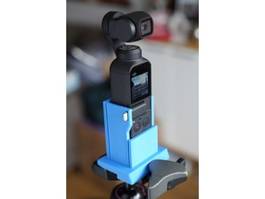 SECURE DJI OSMO POCKET MANFROTTO ADAPTER