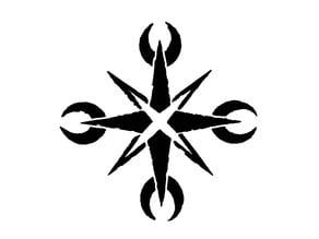 Mythodea - Schwarzes Eis Symbol