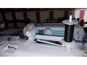 Thread wax holder for Brother Embroidery Machine