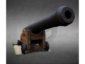 Brass canon