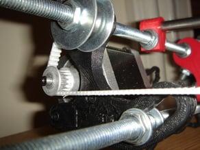 Adjustable Y bracket mount